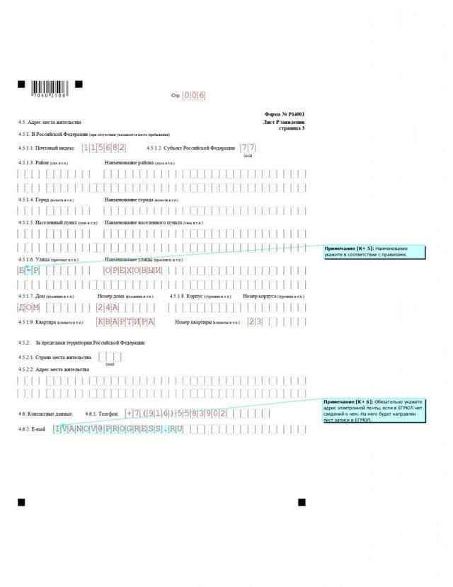 Смена директора и образец заполнения формы р14001 при этом: как правильно заполнить документ и пример того, какие листы должны оформляться