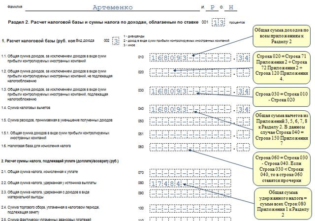 Налоговая декларация 3 НДФЛ на доходы физических лиц, бесплатно скачать бланк в pdf и excel: образцы и примеры заполнения, форма