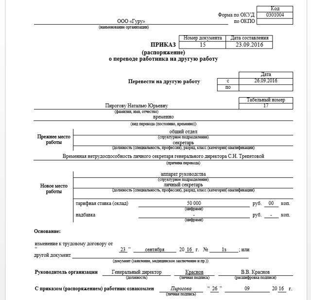 Служебная записка на совмещение должностей: образец и правила составления, а также как ее оформить при подмене сотрудника на время его больничного
