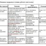 Перерывы в рабочее время: виды и положенное время по ТК РФ