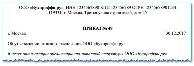 Образец выписки из штатного расписания (в том числе и без указания оклада): что это такое, скачать бесплатно пример заполнения в excel, а также как сделать и оформить по форме Т-3?