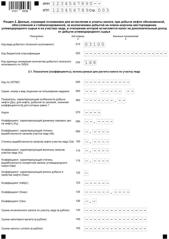 Как рассчитать налог на добычу полезных ископаемых (НДПИ): ставки, срок уплаты, образец декларации