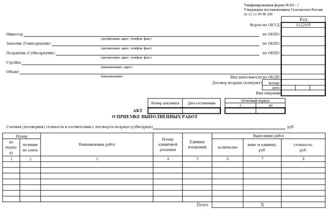 Счет-фактура к КС-2 и КС-3: образец, правила составления и предоставления этого документа