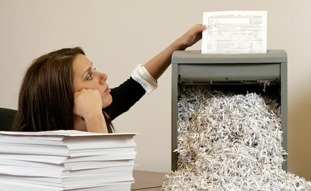 Уничтожение персональных данных: порядок и способы удаления документов содержащих ПД из интернета, из электронных и бумажных носителей, образец акта